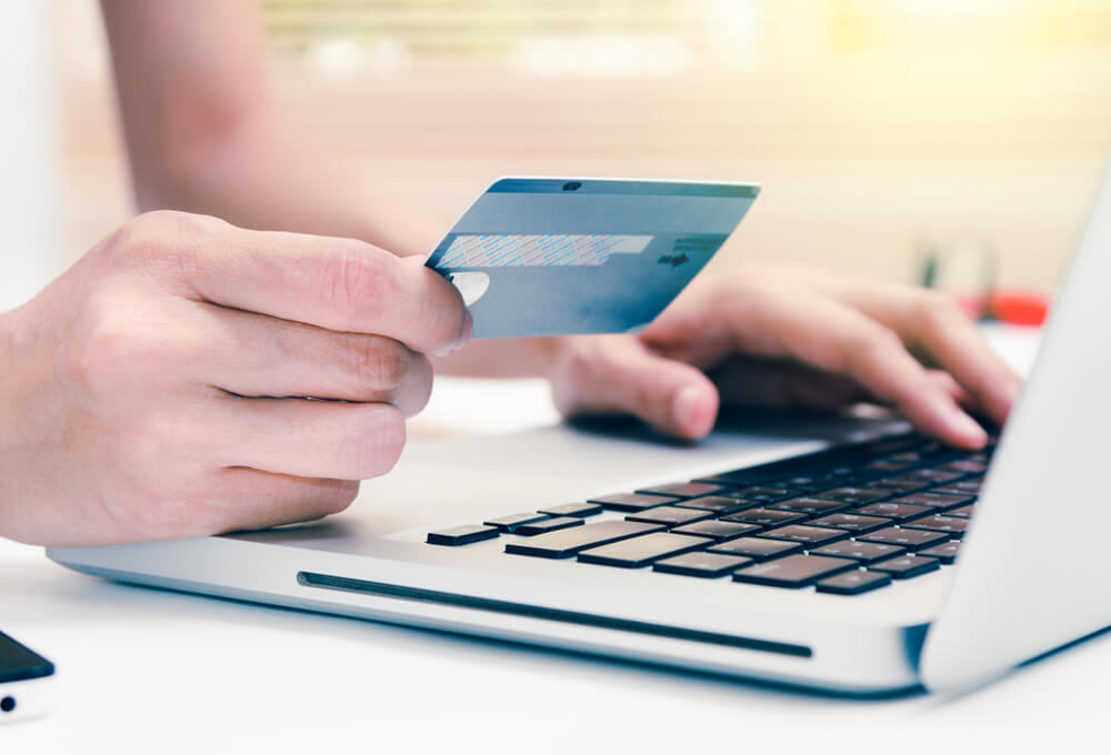 Payment by card online